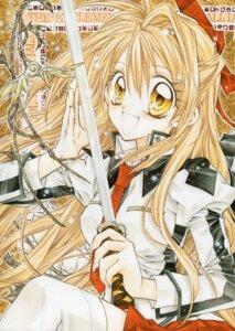Rating: Safe Score: 5 Tags: otomiya_haine seifuku shinshi_doumei_cross sword tanemura_arina User: syaoran-kun