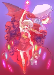 Rating: Safe Score: 5 Tags: flandre_scarlet remilia_scarlet takeda touhou User: Ayu*nyan