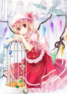 Rating: Safe Score: 39 Tags: flandre_scarlet gyaza touhou wings User: ddns001