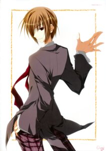 Rating: Safe Score: 4 Tags: inugami_kira male seifuku seitokai_no_ichizon sugisaki_ken User: WtfCakes