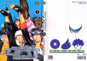 Rating: Safe Score: 3 Tags: air_gear eyepatch headphones male megane mihotoke_issha mikura_kazuma minami_ikki oh!_great onigiri screening wanijima_akito User: Davison