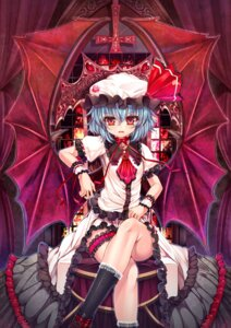 Rating: Safe Score: 18 Tags: garter kanna211 remilia_scarlet touhou User: ddns001