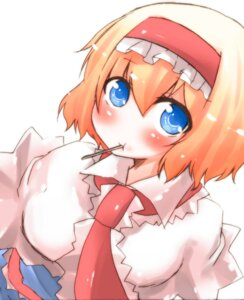 Rating: Safe Score: 3 Tags: alice_margatroid okannigeru touhou User: Radioactive