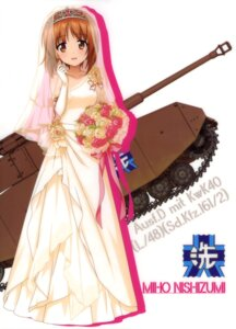 Rating: Safe Score: 31 Tags: dress girls_und_panzer nishizumi_miho silhouette wedding_dress User: drop