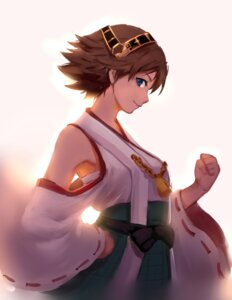 Rating: Questionable Score: 27 Tags: hiei_(kancolle) kantai_collection sarashi sola7764 User: sylver650
