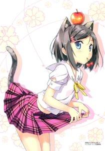 Rating: Safe Score: 92 Tags: animal_ears hentai_ouji_to_warawanai_neko kantoku nekomimi seifuku tail tsutsukakushi_tsukiko User: Twinsenzw