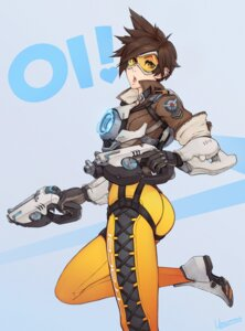 Rating: Safe Score: 32 Tags: ass bodysuit gun overwatch tracer unsomnus User: blooregardo