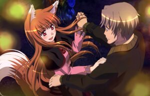 Rating: Safe Score: 25 Tags: animal_ears arakawa_megumi craft_lawrence dress holo spice_and_wolf tail User: 3lizabeth