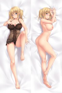 Rating: Questionable Score: 56 Tags: ass cameltoe cleavage dakimakura jasmin_(negligee) lingerie naked negligee nipples pantsu tagme User: NotRadioactiveHonest