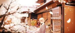 Rating: Safe Score: 22 Tags: gintama kaninn katsura_kotarou male sakata_gintoki sword takasugi_shinsuke User: fireattack