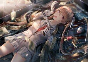 Rating: Safe Score: 31 Tags: artist_revision blood gun japanese_clothes junpaku_karen tagme uniform User: Mr_GT
