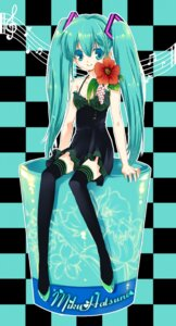 Rating: Safe Score: 14 Tags: dameaki hatsune_miku thighhighs vocaloid User: Radioactive
