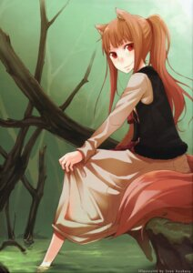 Rating: Safe Score: 31 Tags: animal_ears ayakura_juu holo spice_and_wolf tail User: Eruru