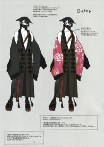 Rating: Safe Score: 13 Tags: animal_ears cleavage japanese_clothes no_bra open_shirt shunsei tagme User: kiyoe