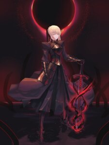 Rating: Safe Score: 12 Tags: armor dress fate/stay_night heels saber saber_alter sword un_lim User: Mr_GT