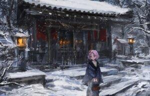 Rating: Safe Score: 35 Tags: aikatsu! kimono kitaooji_sakura landscape lm7 User: blooregardo