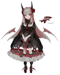 Rating: Safe Score: 27 Tags: dress gothic_lolita horns lolita_fashion pointy_ears see_through tagme wings User: Radioactive