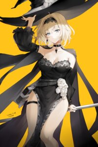 Rating: Safe Score: 47 Tags: alice_margatroid cleavage dress garter meng_ziya touhou witch User: Mr_GT