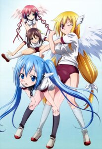 Rating: Safe Score: 75 Tags: astraea buruma gym_uniform ikaros mitsuki_sohara noda_yasuyuki nymph sora_no_otoshimono wings User: kurokami
