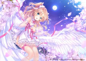 Rating: Safe Score: 97 Tags: dress emori_el emori_miku_project momo_moyon no_bra wings User: hiroimo2