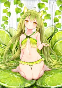 Rating: Safe Score: 88 Tags: animal_ears bikini sukemyon swimsuits wet User: YoroizukaMizore