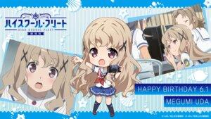 Rating: Safe Score: 10 Tags: chibi high_school_fleet seifuku tagme uchida_mayumi uda_megumi wallpaper yamashita_hideko User: saemonnokami