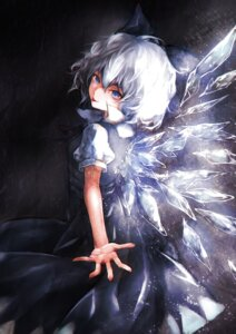 Rating: Safe Score: 17 Tags: cirno dress joker.t.c touhou wings User: charunetra