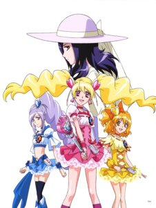 Rating: Safe Score: 3 Tags: dress fresh_pretty_cure! pretty_cure thighhighs weapon User: drop