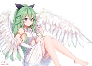 Rating: Safe Score: 56 Tags: dress kantai_collection skirt_lift tagme wings yamakaze_(kancolle) User: BattlequeenYume