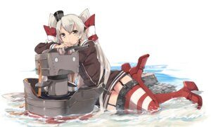 Rating: Safe Score: 46 Tags: amatsukaze_(kancolle) kantai_collection seifuku thighhighs touzai weapon wet_clothes User: nphuongsun93