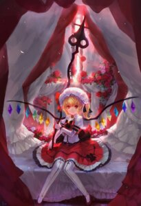 Rating: Safe Score: 16 Tags: flandre_scarlet fom thighhighs touhou User: itsu-chan