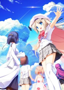 Rating: Safe Score: 31 Tags: dress gym_uniform kud_wafter little_busters! na-ga noumi_kudryavka seifuku summer_dress thighhighs User: saemonnokami