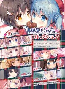 Rating: Questionable Score: 11 Tags: ayamy coffee-kizoku hoshi izumi_nanase kimishima_ao mitha suimya suzunone_rena yanase_aki User: kiyoe
