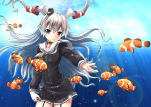 Rating: Safe Score: 46 Tags: amatsukaze_(kancolle) kantai_collection lakuhito seifuku stockings thighhighs User: Mr_GT