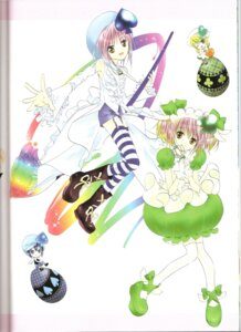 Rating: Safe Score: 4 Tags: amulet_clover amulet_spade binding_discoloration dress hinamori_amu miki peach-pit shugo_chara suu thighhighs User: noirblack