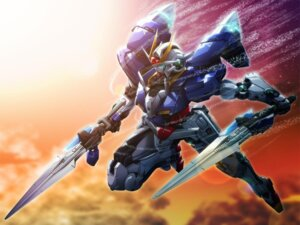 Rating: Safe Score: 14 Tags: gundam gundam_00 mecha wallpaper User: LHM-999