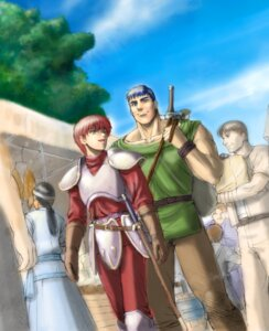 Rating: Questionable Score: 1 Tags: adol_christin dogi falcom ys User: hirotn