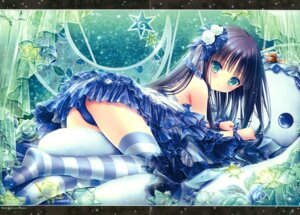 Rating: Safe Score: 75 Tags: ass crease dress pantsu see_through thighhighs tinkle User: RICO740