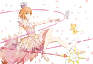 Rating: Safe Score: 28 Tags: card_captor_sakura dress heels kerberos kinomoto_sakura weapon xuegao_ice User: RyuZU