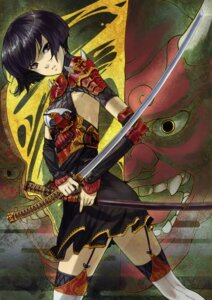 Rating: Safe Score: 35 Tags: armor shimotsuki_eight sword thighhighs User: midzki