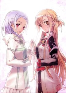 Rating: Safe Score: 44 Tags: abec asuna_(sword_art_online) sword_art_online yuna_(sword_art_online) User: kiyoe