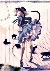 Rating: Safe Score: 17 Tags: animal_ears mubouou_aasaa neko nekomimi pantyhose tail User: Radioactive