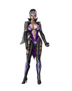 Rating: Questionable Score: 8 Tags: bodysuit cleavage fishnets heels mortal_kombat mortal_kombat_(2011) see_through sindel User: Yokaiou