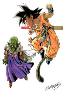 Rating: Safe Score: 3 Tags: dragon_ball piccolo_daimou son_goku toriyama_akira User: OZKai2015