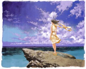 Rating: Safe Score: 12 Tags: dress mishima_reika rahxephon summer_dress yamada_akihiro User: Radioactive