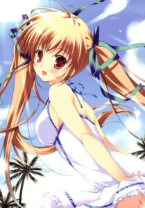 Rating: Safe Score: 86 Tags: dress mikeou summer_dress User: van
