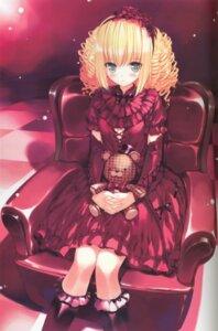 Rating: Safe Score: 32 Tags: binding_discoloration gothic_lolita lolita_fashion ueda_ryou User: van