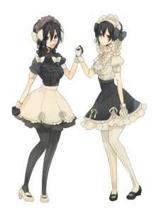 Rating: Safe Score: 15 Tags: dress durarara!! megane monmonji orihara_kururi orihara_mairu pantyhose User: Radioactive