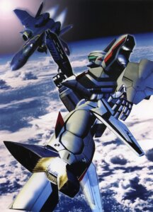 Rating: Safe Score: 5 Tags: binding_discoloration macross macross_plus mecha tenjin_hidetaka User: oldwrench