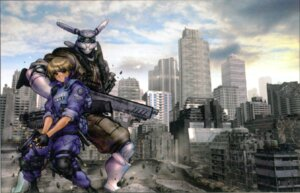 Rating: Safe Score: 6 Tags: appleseed briareos_hecatonchires deunan_knute gun screening shirow_masamune User: zhukovsan